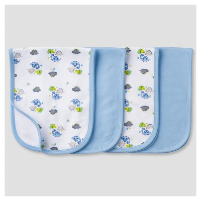 Baby Boys' 4 Pack Terry Burpcloth Set Dinos - Gerber®