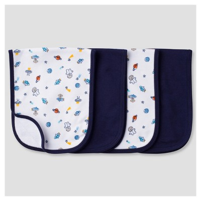 Baby Boys' 4 Pack Terry Burpcloth Set Monkeys - Gerber®