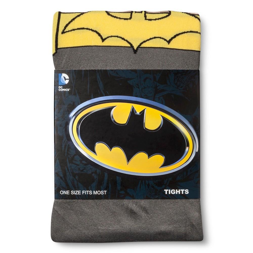 Batman Women's Tights - Gray One Size