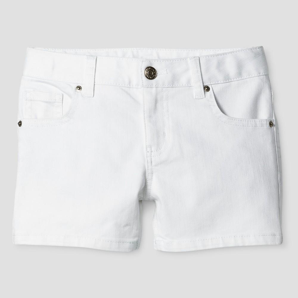 Girls Denim Shorts - Cat & Jack White XL