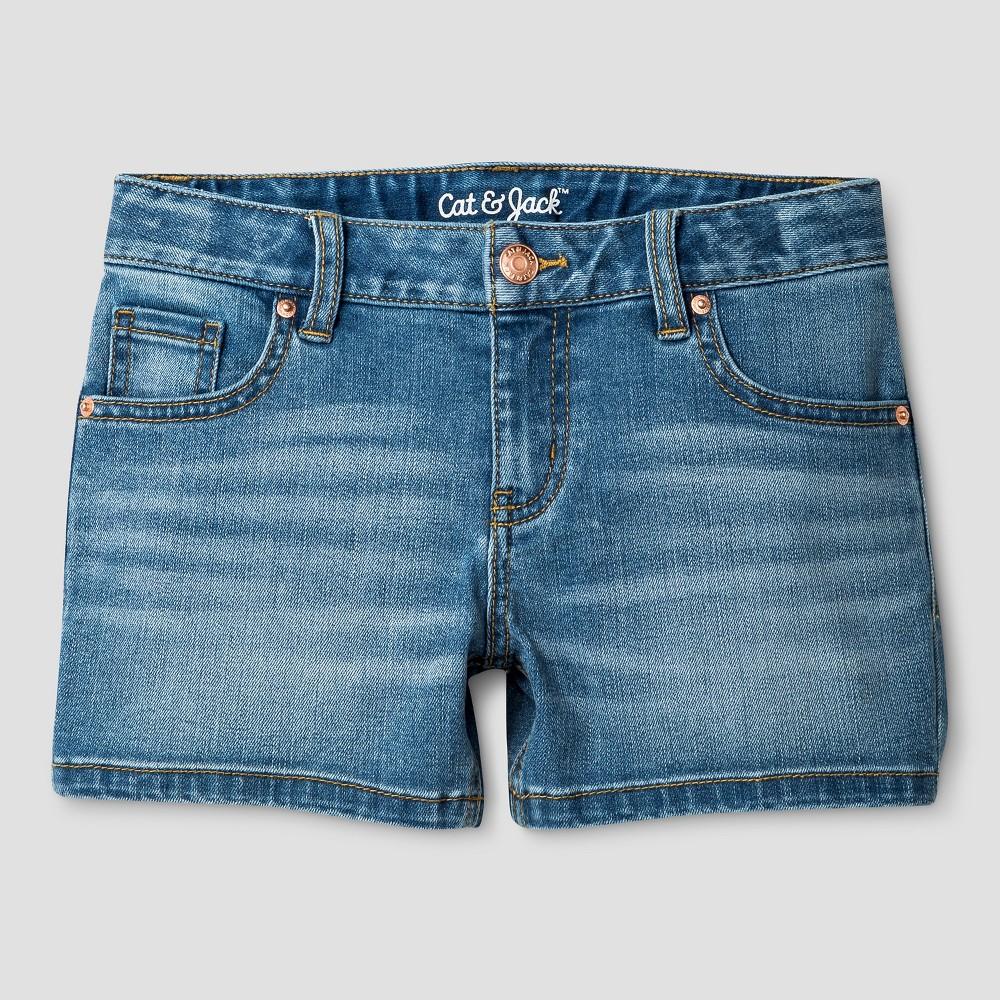 Girls Jean Shorts - Cat & Jack Airy Blue XS