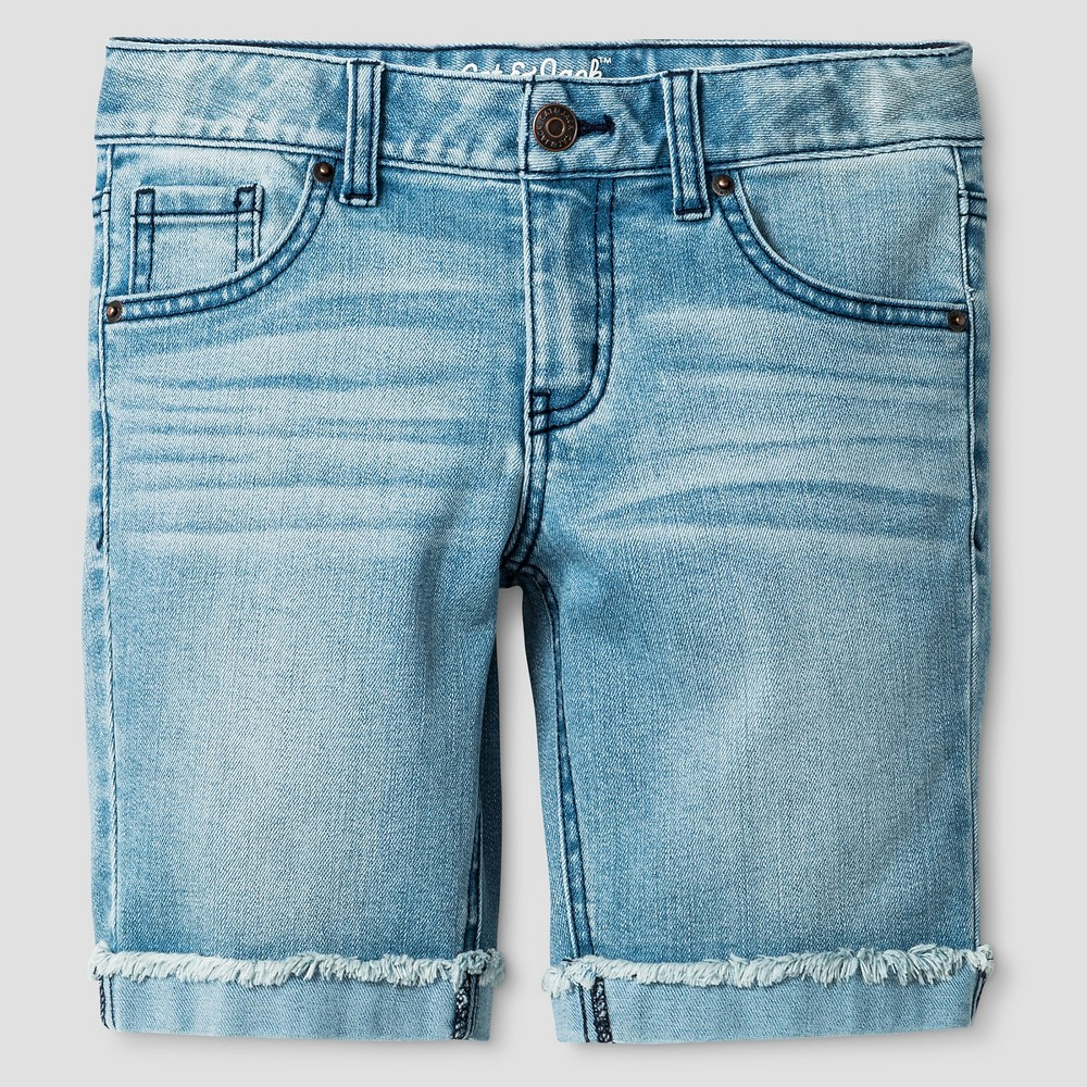 Plus Size Girls Denim Bermuda Shorts Light Wash - Cat & Jack Cloud XL Plus, Size: Xxl, Blue