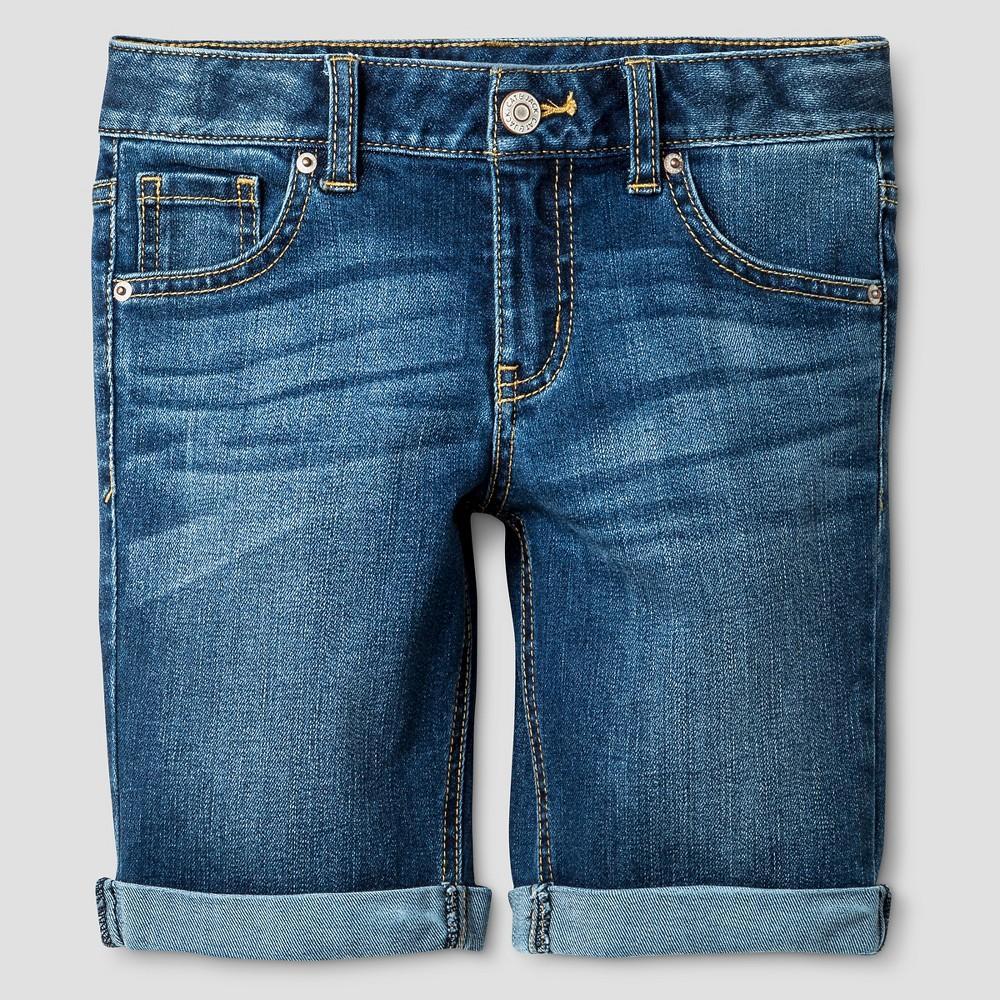 Girls Jean Shorts - Cat & Jack Blue Jay XS