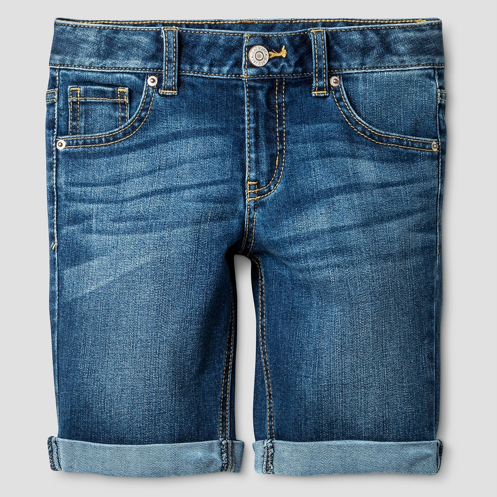 Girls Jean Shorts - Cat & Jack Blue Jay L