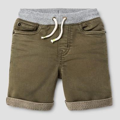 Baby Boys' Jean Shorts Cat & Jack™ Olive Green 12 M