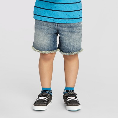 Baby Boys' Jean Shorts Cat & Jack™ - Medium Blue 18 M