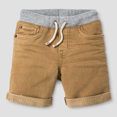 Baby Boys' Jean Shorts Cat & Jack™ Khaki 18 M