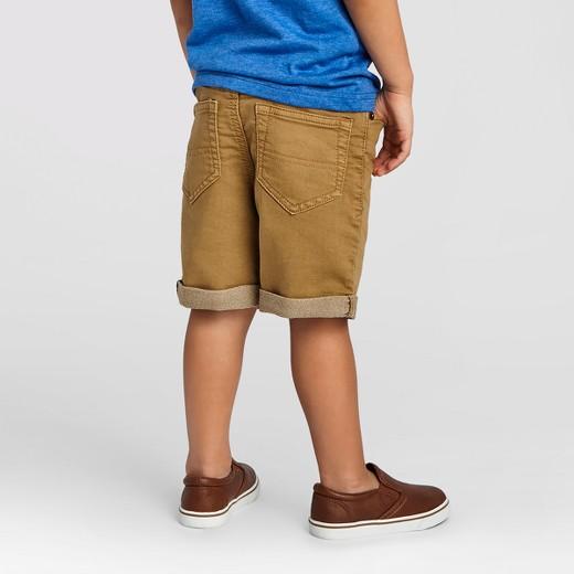 Toddler Boys' Jean Shorts Cat & Jack™ - Khaki : Target