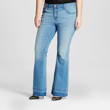 Plus Size Flare Jeans : Target