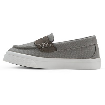 Toddler Boys' Dell Loafers Cat & Jack - Grey 11, Toddler Boy's, Gray