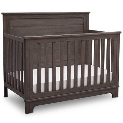 Simmons® Kids Slumbertime Monterey 4-in-1 Convertible Crib - Rustic Gray