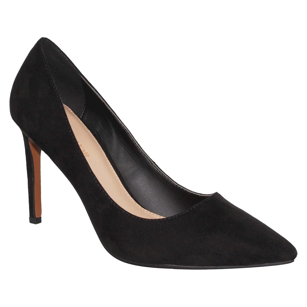 Womens Ally Microsuede Pumps Who What Wear - Black 8.5