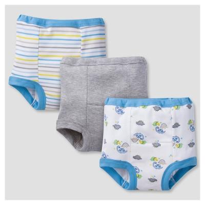 Toddler Boys' 3pk Print Training Pants Set Dinos 3T - Gerber®