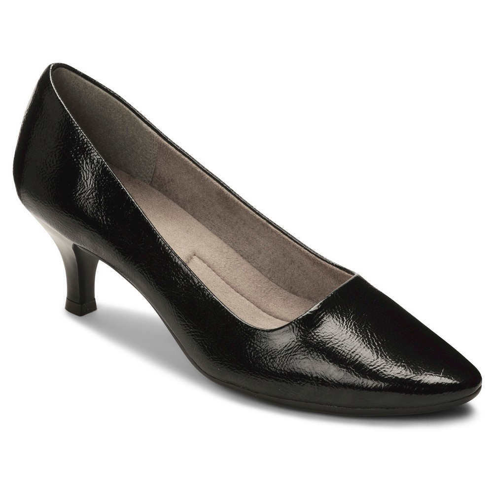 Womens A2 by Aerosoles Foreward Patent Pumps - Black 8