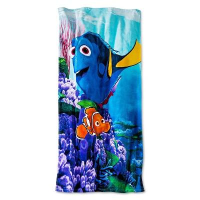 Finding Dory Beach Towel Beach Towel (28x58 inches)Blue - Disney®