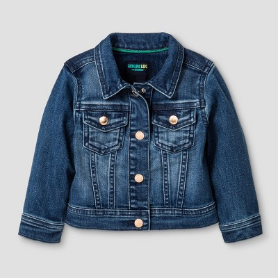 Baby Girls' Jean Jacket Genuine Kids™ from OshKosh® Medium Blue 12M