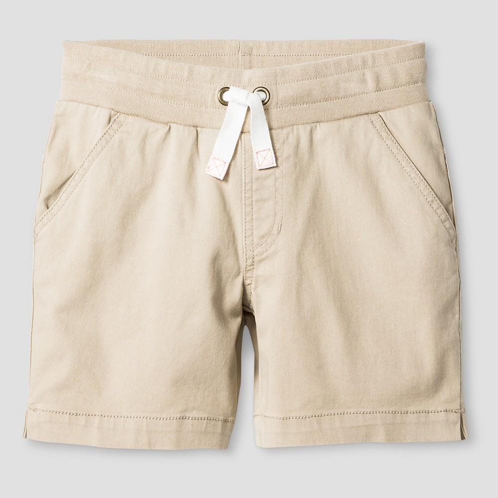 Plus Size Girls Twill Midi Shorts - Cat & Jack Pita Bread L Plus