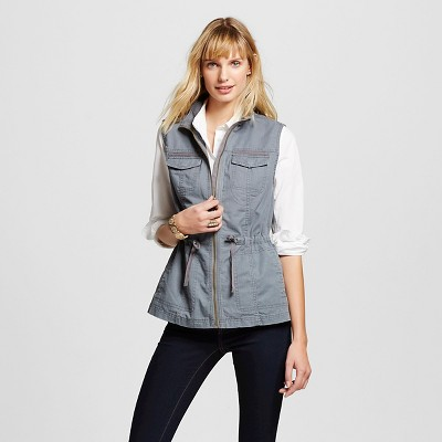 view Women's Utility Vest - Merona on target.com. Opens in a new tab.
