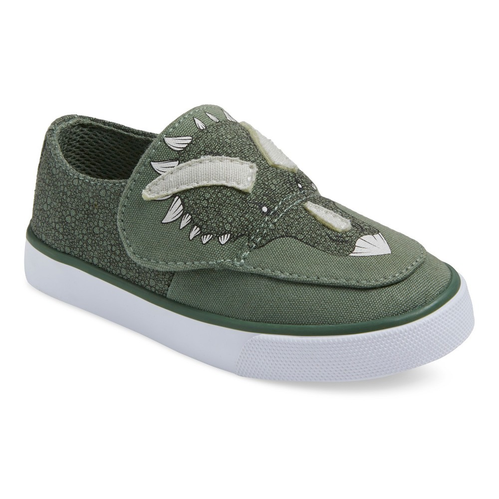 Toddler Boys' Hank Canvas Sneakers Green 10 – Genuine Kids, Toddler Boy's