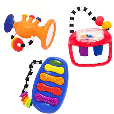 Sassy® Eye and Hand Coordination Toy Musical Gift Set