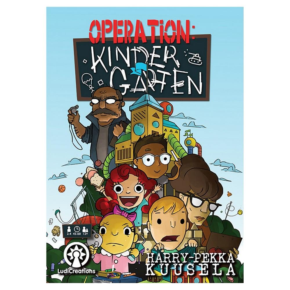 Operation: Kindergarten Board Game