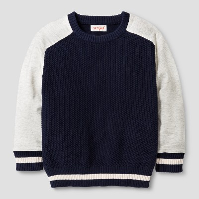 Baby Boys' Pullover Sweater Cat & Jack™ Navy 12 M