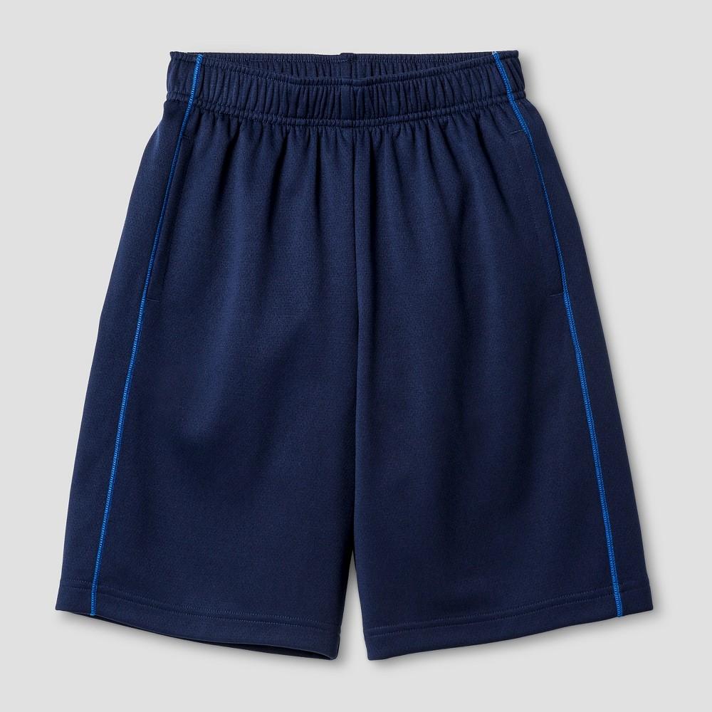 Boys Activewear Shorts - Cat & Jack Navy XL, Navy Voyage