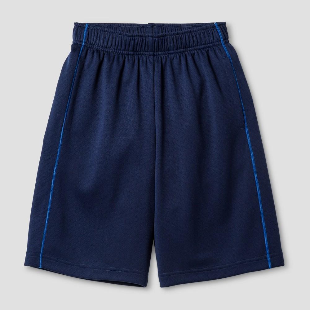 Boys Activewear Shorts - Cat & Jack Navy L, Navy Voyage