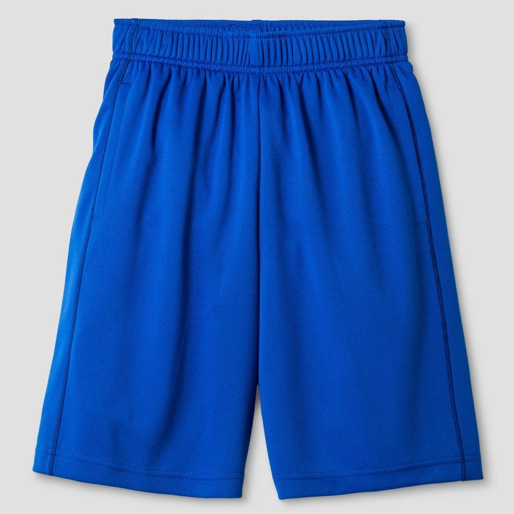 Boys Activewear Shorts - Cat & Jack Blue Streak S