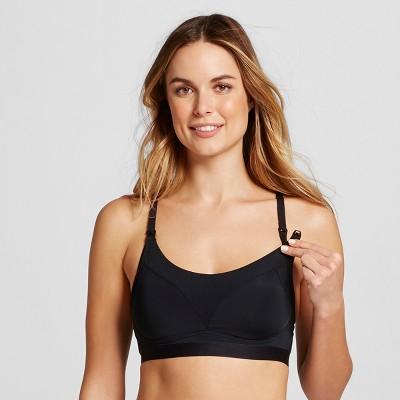 Women's Nursing Yoga Bra - Gilligan & O'Malley™ Black M