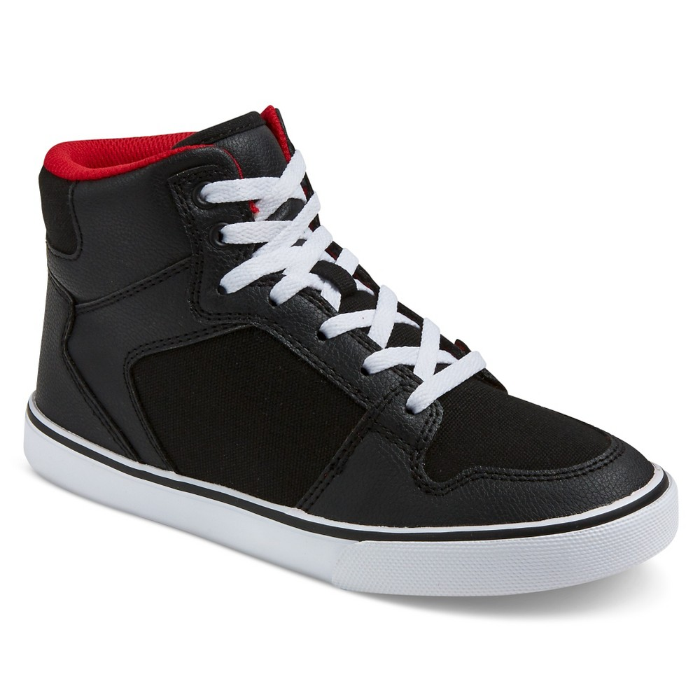 Boys Hawk Sneakers - Art Class Black 3