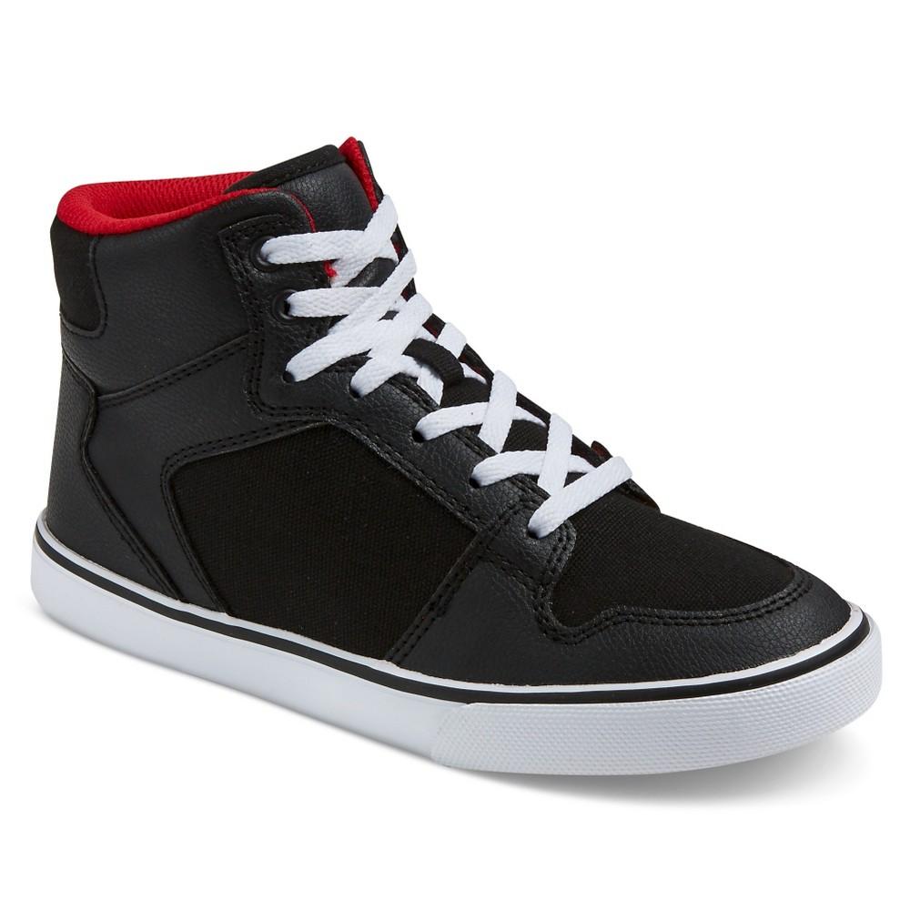 Boys Hawk Sneakers - Art Class Black 4