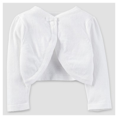 Baby Girls' Cardigan Sweater - Just One You™ Made by Carter's® White 3M