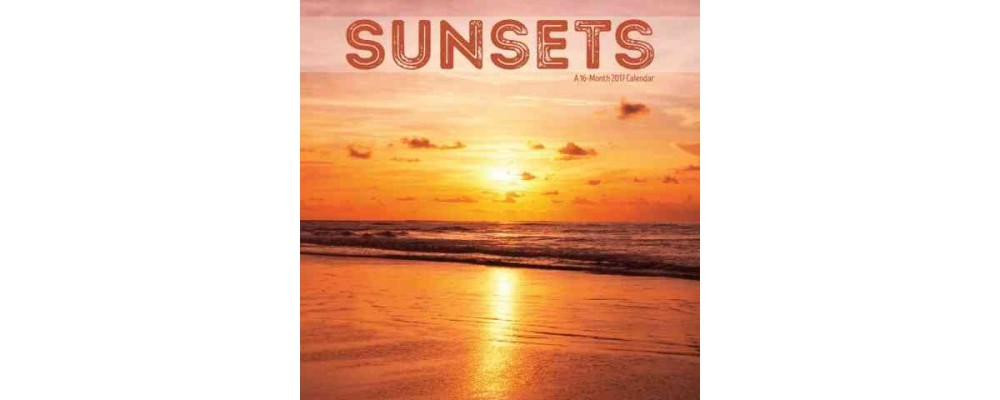 Sunsets 2017 Calendar (Paperback)