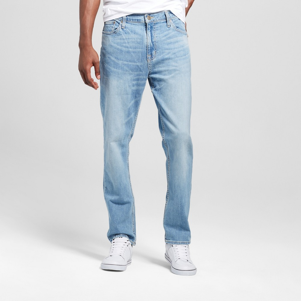 Mens Athletic Fit Jeans - Mossimo Supply Co. Light Wash 31x30, Blue
