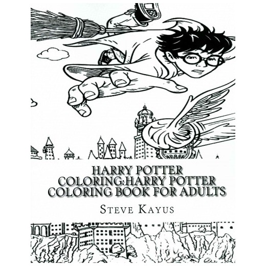 harry potter coloring book for adults paperback steve kayus