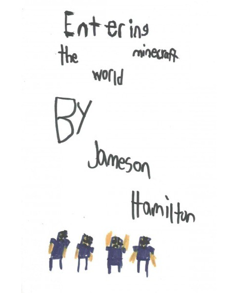 Entering the Minecraft World (Paperback) (Jameson Hamilton) - image 1 of 1