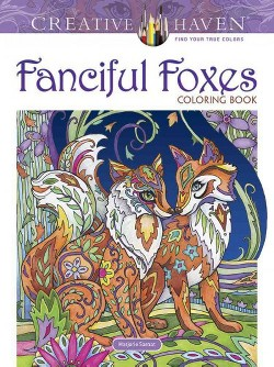 Fanciful Foxes Coloring Book (Paperback) (Marjorie Sarnat)