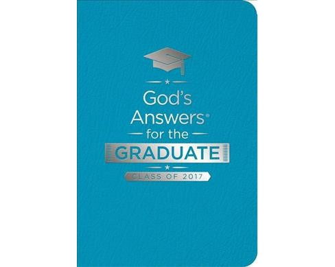 God's Answers for the Graduate Class of 2017 : New King James Version, Teal, Leathersoft, Ribbon Marker - image 1 of 1