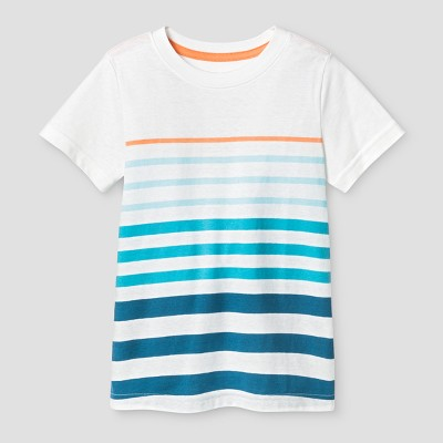 Baby Boys' T-Shirt Cat & Jack™ White 12M