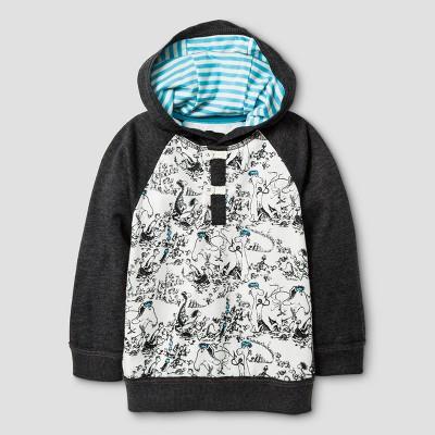Baby Boys' Sweatshirt Genuine Kids™ from OshKosh® Black 12M