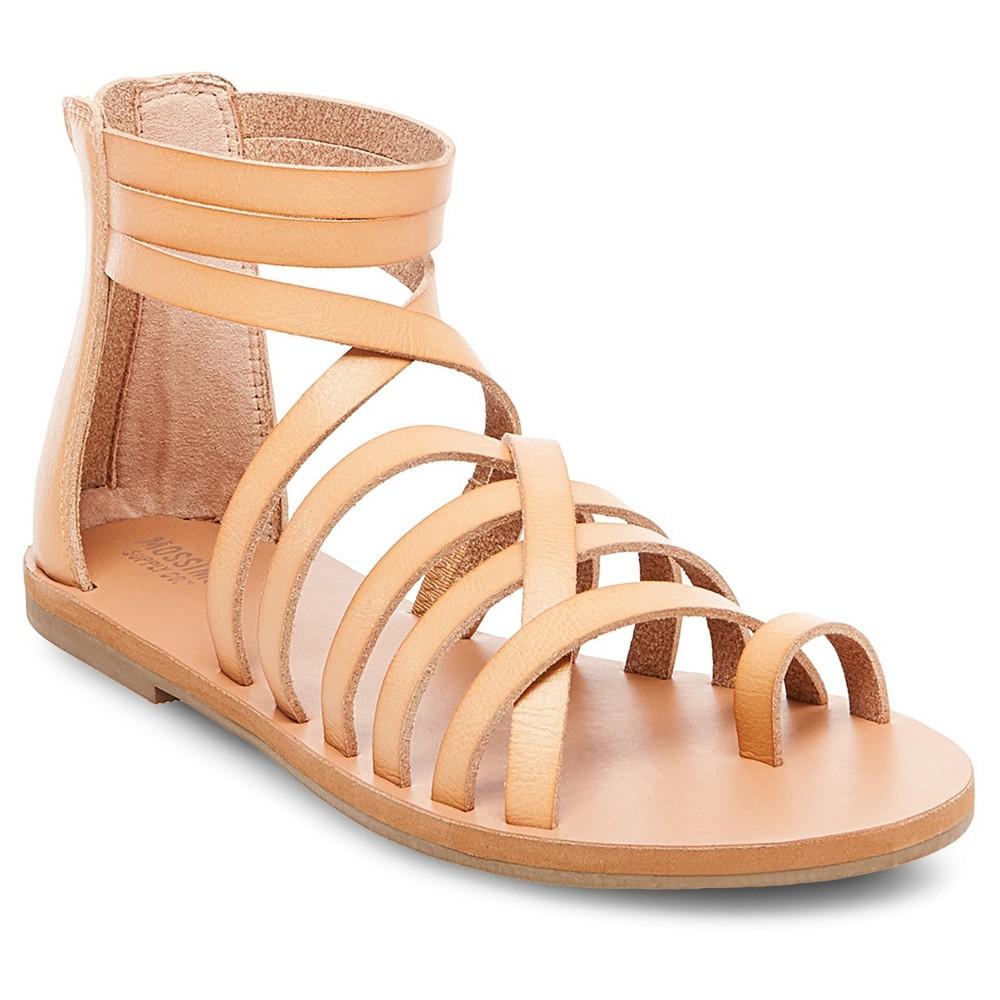 Womens Jessie Gladiator Sandals - Mossimo Supply Co. Tan 8