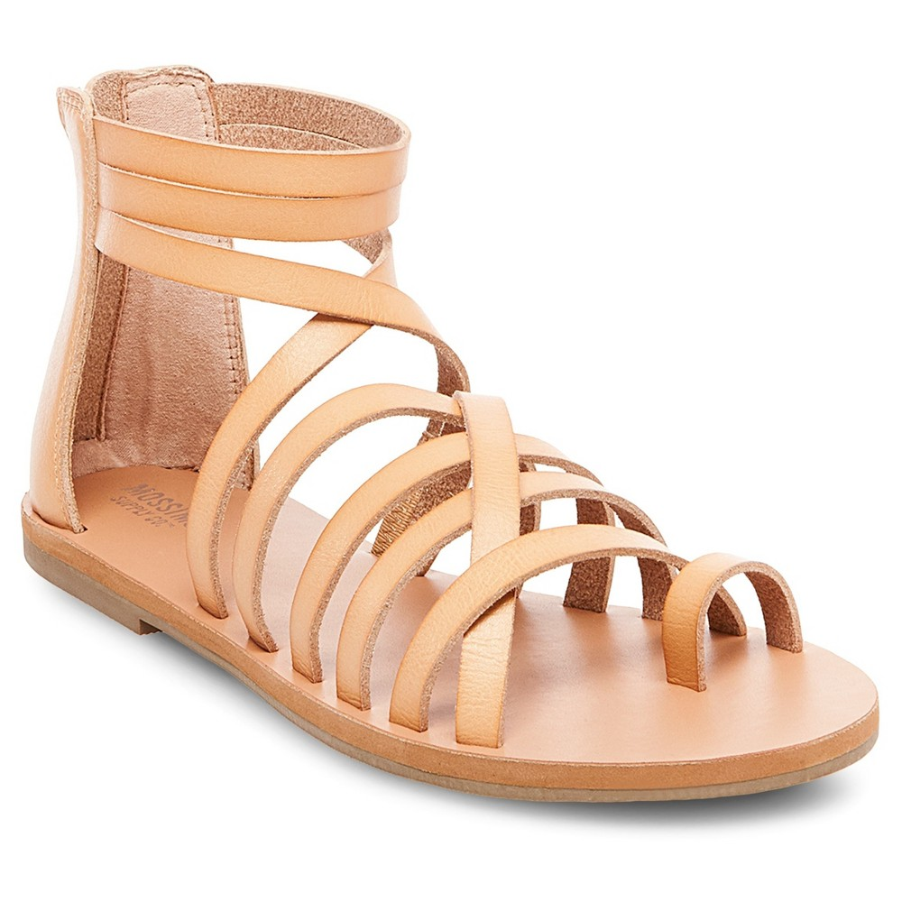 Womens Jessie Gladiator Sandals - Mossimo Supply Co. Tan 8.5