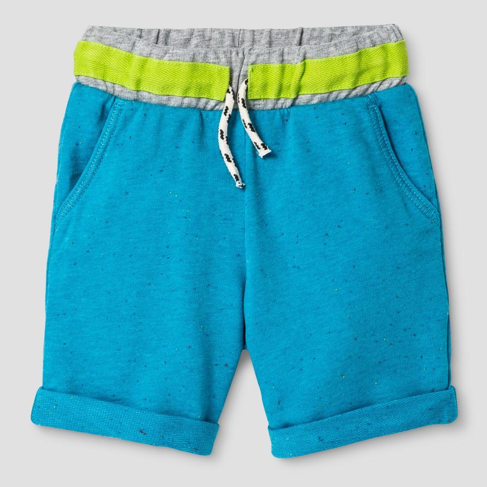 Baby Boys Lounge Shorts Genuine Kids from OshKosh Turquoise 12M, Size: 12 M, Blue