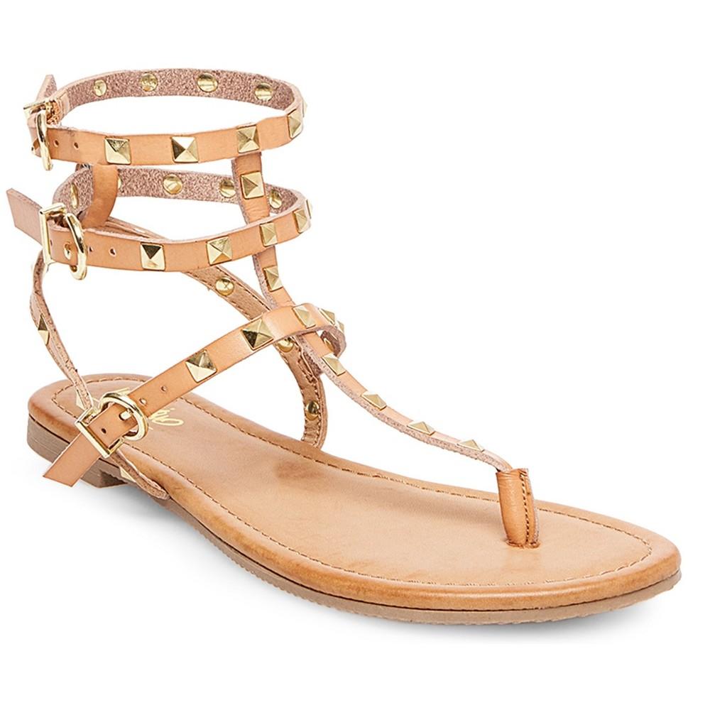 Womens Gertie Gladiator Sandals - Mossimo Tan 8.5