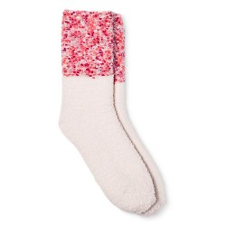 Women's Cozy Crew Socks Multi Color Cuff - Xhilaration™
