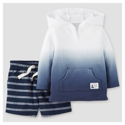 Baby Boys' 2pc French Terry Dip-dye Hoodie Set - Just One You™ Made by Carter's® NB