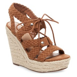 Women's Helia Platform Lace Up Espadrille Wedge Sandals Mossimo Supply Co.™