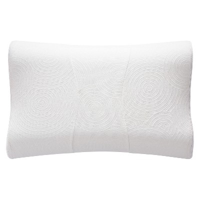 contour pillow protector white tempurpedic