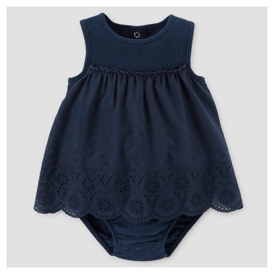 Baby Girls' Sun Dress - Just One You™ Made by Carter's® Navy 3M